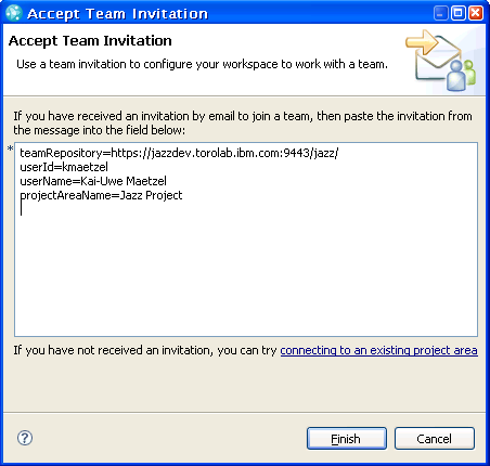 Team aware rational team concert library articles jazz to accept a team invitation in the eclipse based ide click on the accept team invitation toolbar action in the team artifacts view or choose accept team stopboris Choice Image