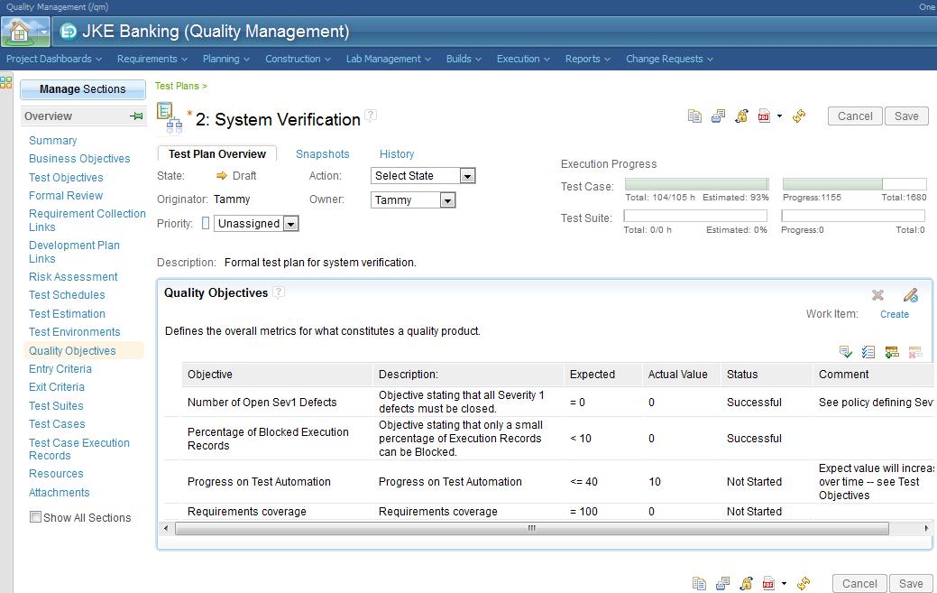 IBM Rational Quality Manager - IBM Jazz net