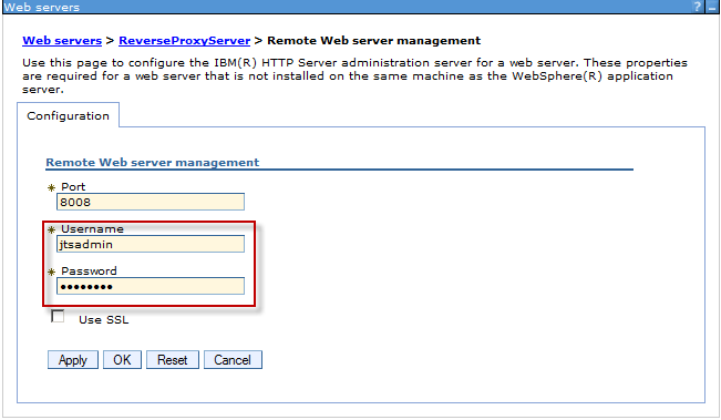 Remote Web Server Managementr