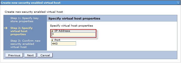 Reverse Proxy Config / Create New Virtual Host